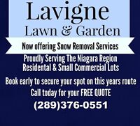 Quality & Affordable snow removal services - Niagara region.