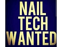 Nail tech required - MUST HAVE OWN CLIENTELL