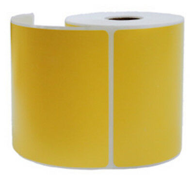 2000 Yellow Thermal Shipping Labels 250roll For Zebra Printer 4 X 6