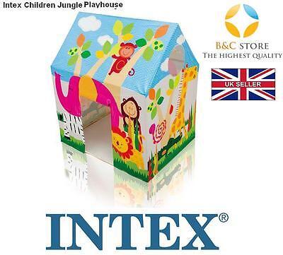 NEW INTEX 45642 Kids Jungle Playhouse Children Wendy House Zoo Cottage FUN BEST
