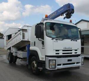 2011 Isuzu FVR 1000 Crane Tipper, stock 1224 Kenwick Gosnells Area Preview