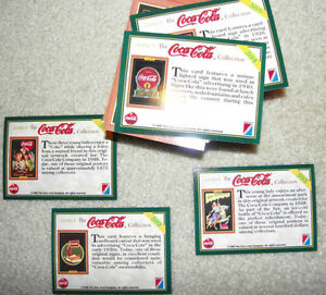 Coca Cola Cards - 1995 Kitchener / Waterloo Kitchener Area image 4
