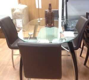 Brand new 5 pc dinette set on sale $698 only+FREE DELIVERY  Regina Regina Area image 2