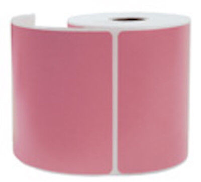 2000 Pink Thermal Shipping Labels 250roll For Zebra Printer 4 X 6