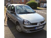 Renault Clio, brilliant and reliable first car, very low tax and insurance!