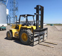 2003 Sellick SD80  Rough Terrain Forklift