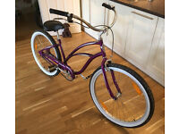 Ladies Beach Cruiser Bike