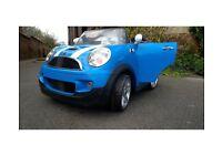 Mini Cooper 12v two seater electric