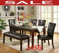dining sets, dinette sets, chaise, hatches, tables, chair, bench