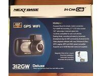 Nextbase 312GW Full 1080p HD In Car Dash Cam Digital Driving Video Recorder Wi-Fi