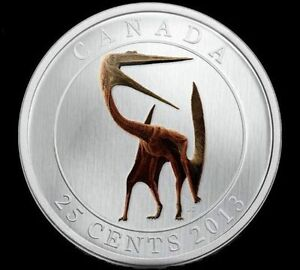 Canada 2013 Glow in the dark Dinosaur Coin