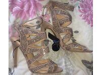 Brand new sparkly heels