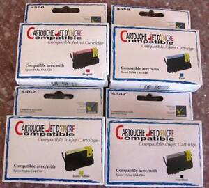 16 x COMPATIBLE EPSOM STYLUS C64/C84 INJET CARTRIDGES Stoneville Mundaring Area Preview