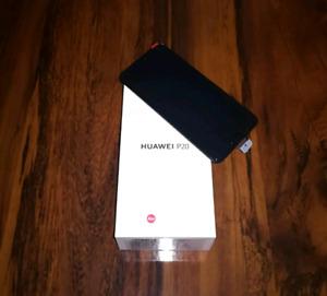 Black Huawei P20 LNIB mint 128gb