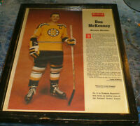 1962 - Boston Bruin's Captain Don McKenney