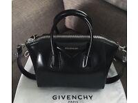 Givenchy small antigona patent black style bag