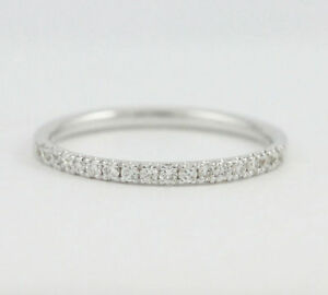 18k White Gold Diamond Anniversary Band (0.16 tdw) #2883 Oakville / Halton Region Toronto (GTA) image 1