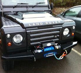Wanted: defender parts. Winch, bumper, roof rack, spot lights etc