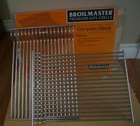 BRAND NEW - RESTAURANT QUALITY STAINLESS STEEL BBQ GRIDS