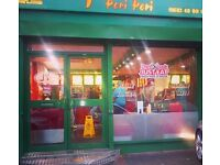 Peri Peri Takeaway For Sale 10yr Lease £350/Week Rent