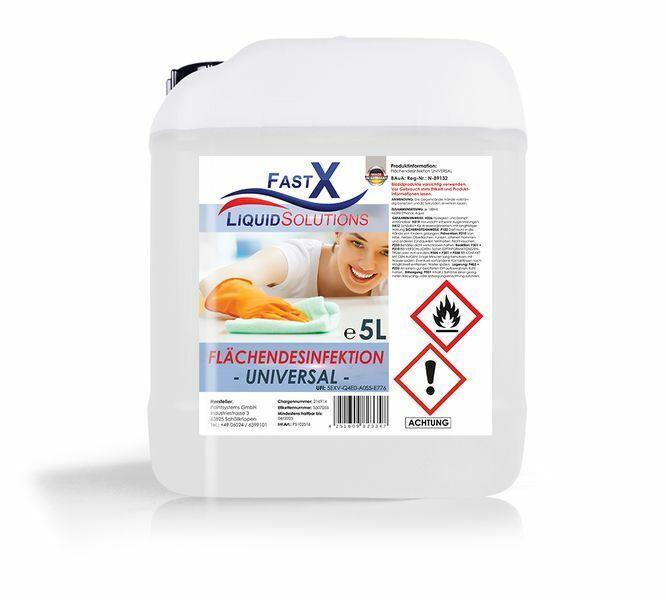 5 Liter Flächendesinfektionsmittel Alkoholisches Desinfektionsmittel Bakterien