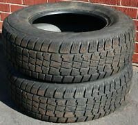 2 Avalanche Extreme 225/70/R15 Tires 40% Tread Left