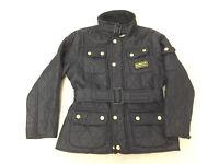 Children's International Quilted Barbour Jacket medium