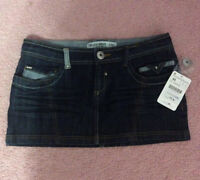 New denim mini skirt from Zara size 8 (40)