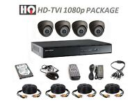 4 Camera CCTV 2.1mp System Full HD 1080p