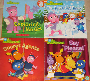 2 Sets of Qty 4 x Backyardigans Hard & Soft Cover Books London Ontario image 2
