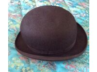 Vintage bowler hat. Woodrow amyylyte burlington