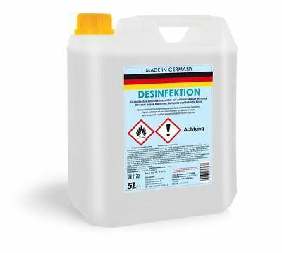Desinfektionsmittel 5 Liter Kanister gegen behüllte Viren Flächendesinfektion
