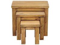 Didsbury Nest of 3 table