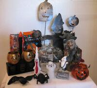 Halloween seasonal decor