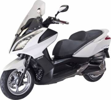 300cc Kymco Downtown Scooter with ABS - with Warranty & LOW KM's