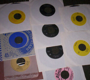 brand new, unplayed 45 rpm records ALL MINT OLDIES ROCK!
