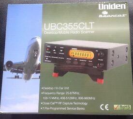 Uniden Bearcat Scanner And Antenna.