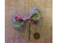 Large floral bow