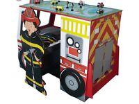 Teamson fire engine desk BNIB