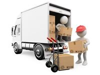 CHEAP MAN & VAN HIRE HOUSE REMOVAL BIKE PIANO MOVER LUTON MOVING DRIVER RUBBISH JUNK WASTE CLEARANCE