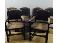 Antique set of 5 chairs free delivery in London