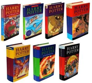 Complete Harry Potter Hardcover Set/Fantastic Beasts/Quidditch/