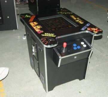60 GAME 2 PLAYER SIT DOWN ARCADE MACHINE 3 YEARS WARRANTY