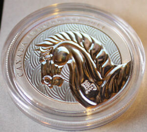 2014 Year of the Horse $10.00 Silver Coin