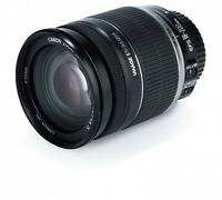 Canon EF-S 18-200mm F3.5-5.6 IS lens- light used