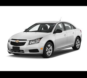 2014 Silver Chevy Cruze