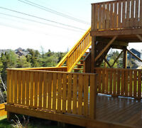 Deck Washing and Staining - 740-0832