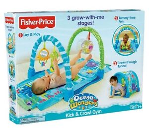 Ocean wonders play mat