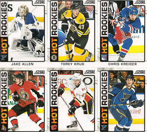 2012-2013 Score Hockey - Complete Set (548 cards - 48 RCs)