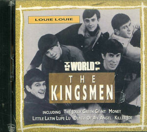 "THE KINGSMEN ""LOUIE LOUIE IMPORTED CD"" BRAND NEW FACTORY WRAPPED"